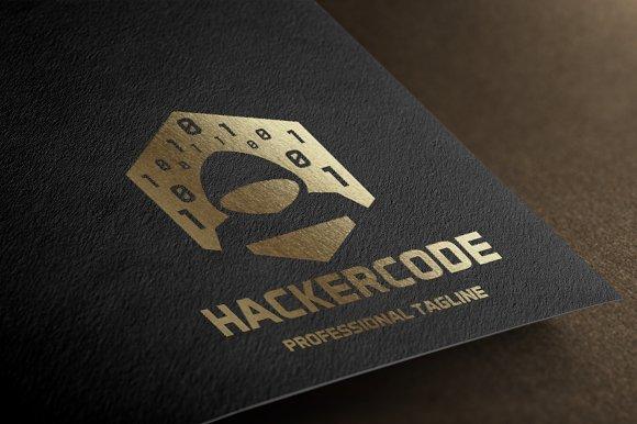Hacker Code Logo Logo Templates Creative Market