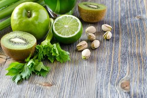 Fruits for detox smoothie and juice