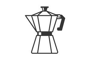 Geyser Coffee Maker Pot Icon