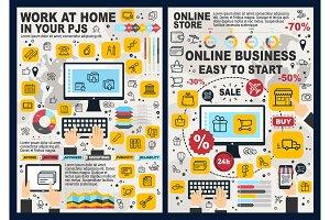 Online business, e-commerce