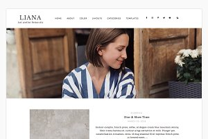 Liana - Wordpress theme
