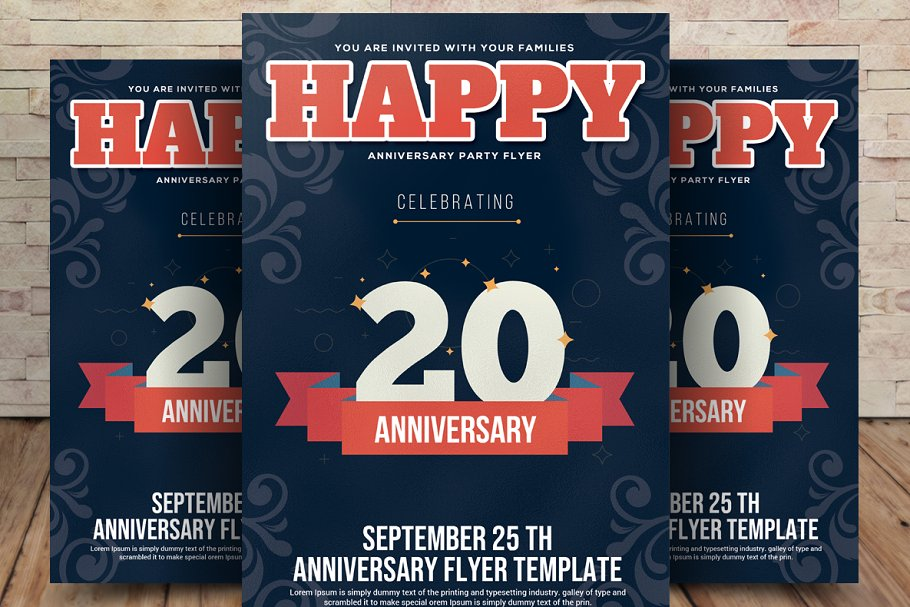 20th Anniversary Flyer