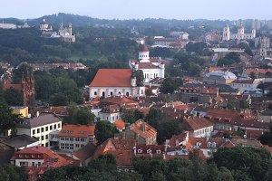 Vilnius aerial view, Lithuania