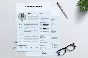 Minimalist CV Resume Vol. 04