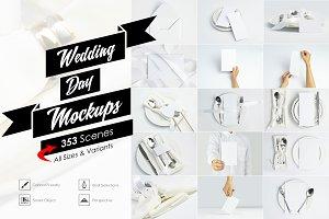 Wedding DAY Mockups Full Pack