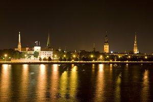 Riga city view, Latvia