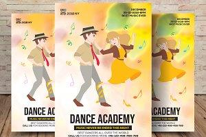 Dance Academy Flyer & Poster