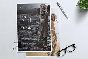 ANNA Fashion Sale Flyer