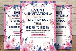 Sophisticated/Modern Event Invitatio