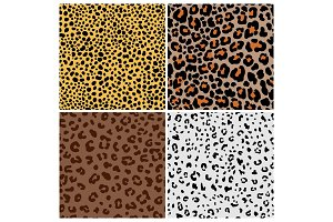 Spotted cat fur patterns