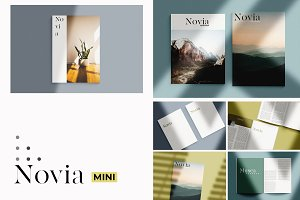 Novia Mini Magazine Mock-Up Kit