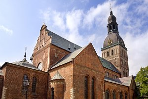 The Dome Cathedral. Riga, Latvia