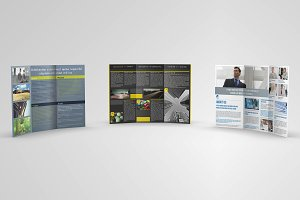 Trifold Brochures Bundle 02