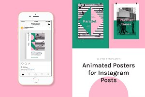 Animated Posters for Instagram