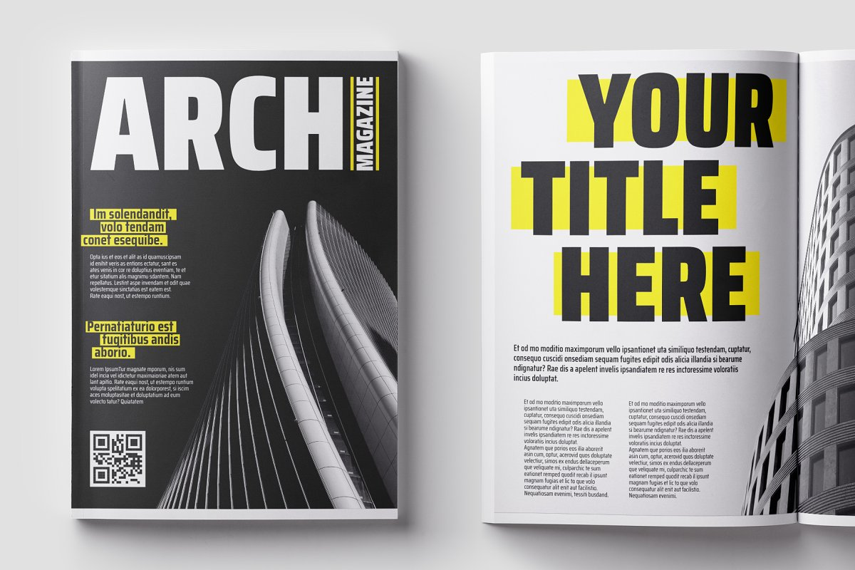 Architecture Mag. Template
