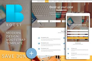 BOOST Bootstrap html template