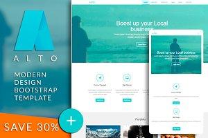 ALTO - Bootstrap html template