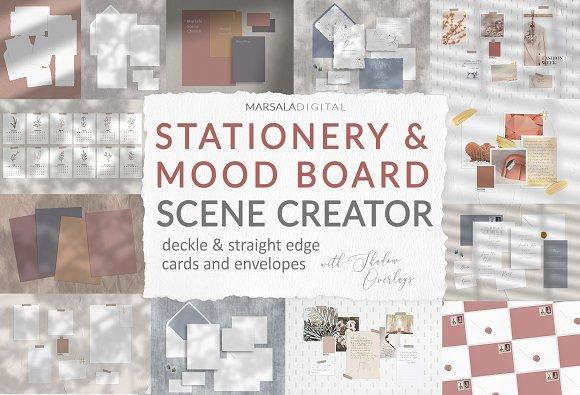 Mood Board Mockup Scene Creator in Scene Creator Mockups - product preview 18
