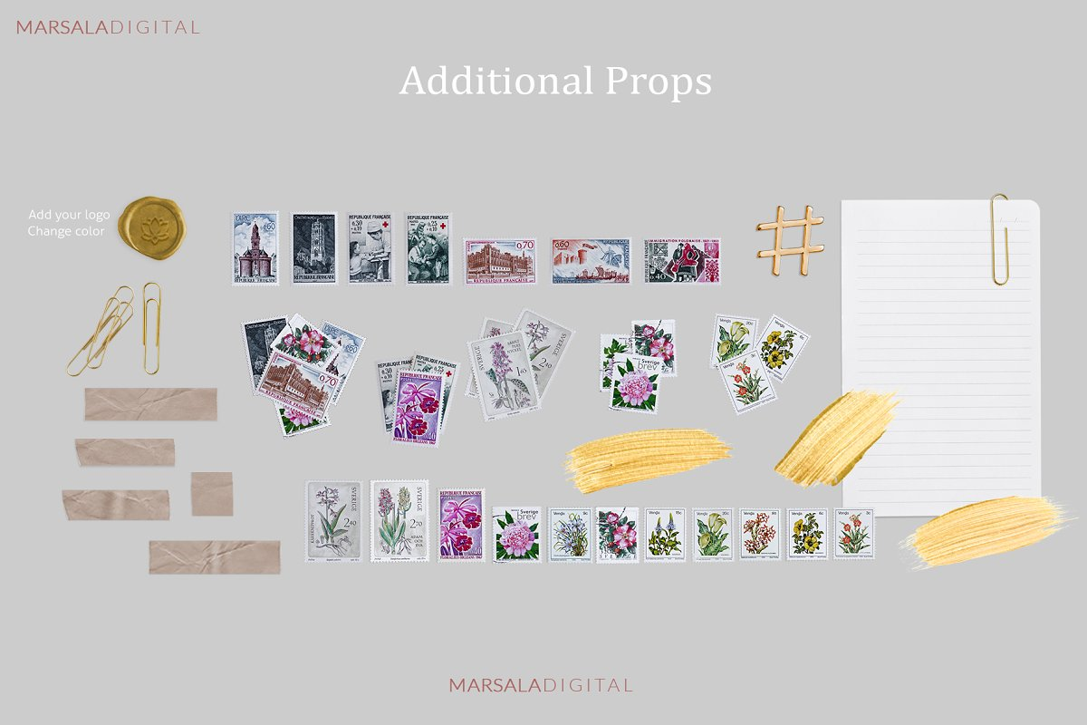 Mockup Scene Creator - Stationery  in Product Mockups - product preview 17