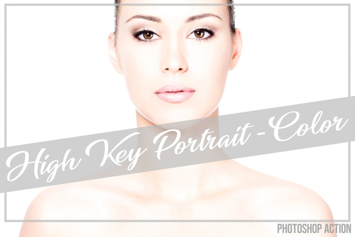 High Key Portrait Color PS Action