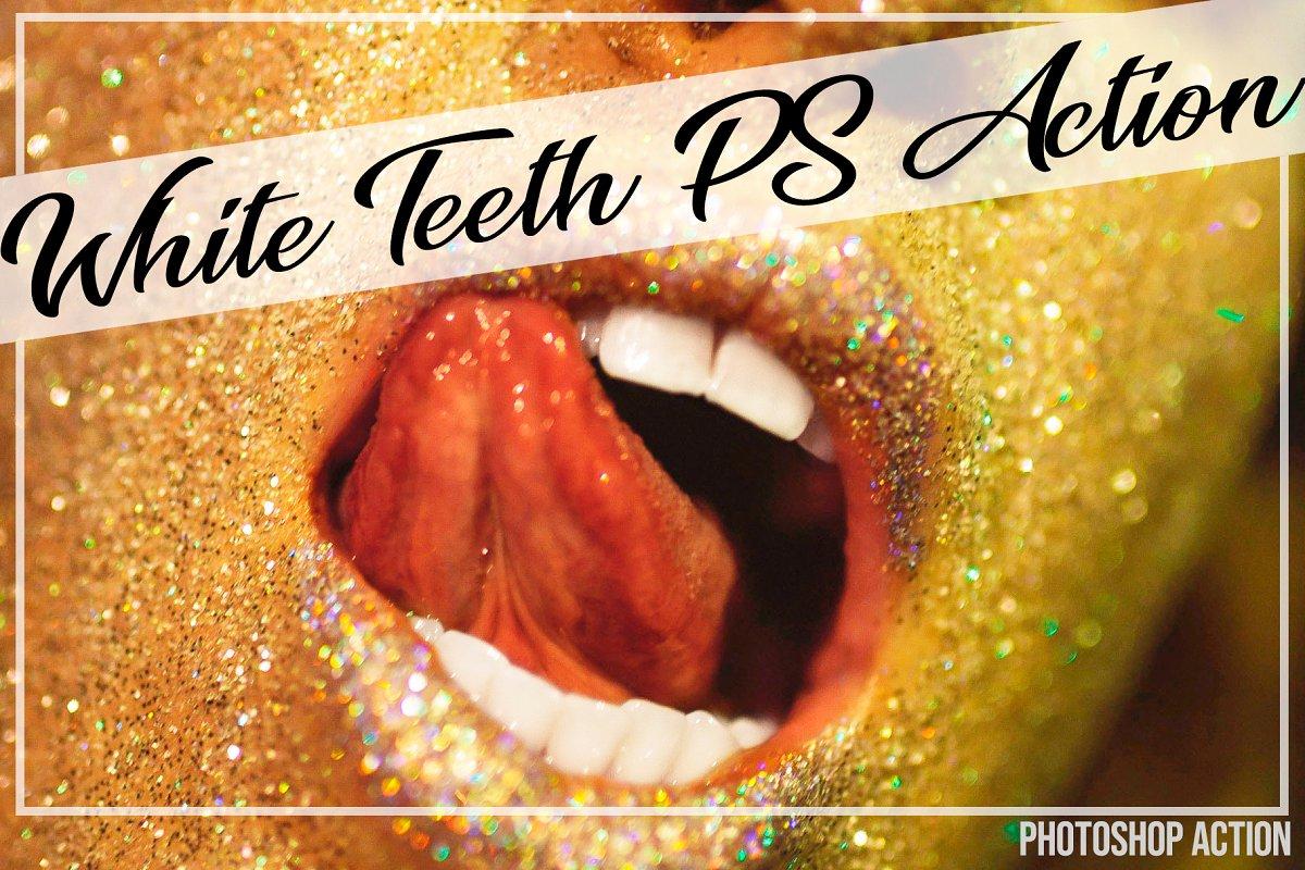 White Teeth Photoshop Action