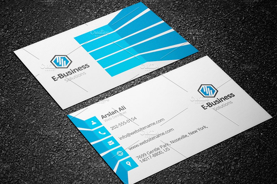 4 Creative Business Cards - Bundle 1 - Business Card Templates ...