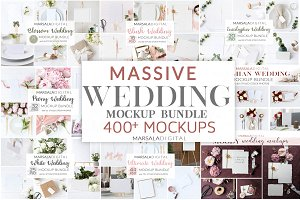 Wedding Mockup Bundle 400+