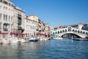 Realto bridge in Venice