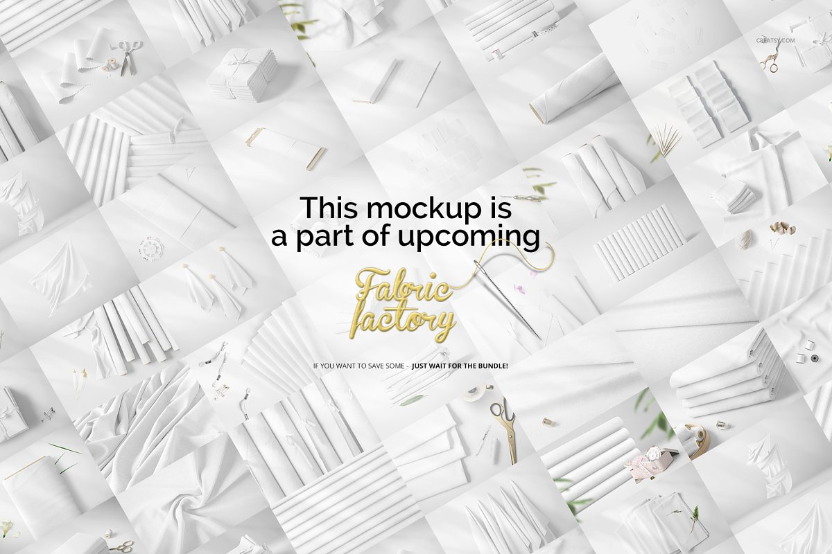 Fabric Rolls Mockup 71/FF v.6 in Product Mockups - product preview 6