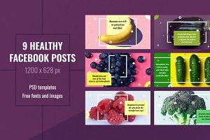 Healthy Facebook Post Templates