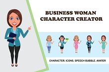Business Woman Character Creator