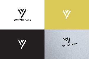 Letter Y logo design
