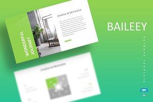Baileey - Keynote Template