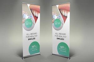 Dental Care Roll Up Banner