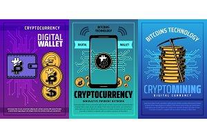 Mobile digital wallet, bitcoin