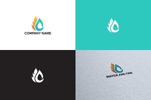 Fire logo design