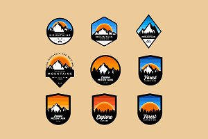 Adventure Badges Logos