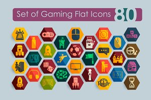 80 gaming icons