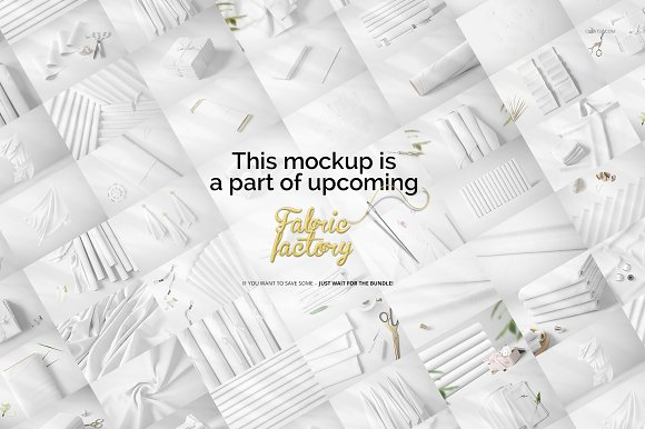 Folded Fabric Mockup 59/FF v.6 in Product Mockups - product preview 5
