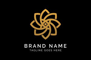 Luxury Flower Logo