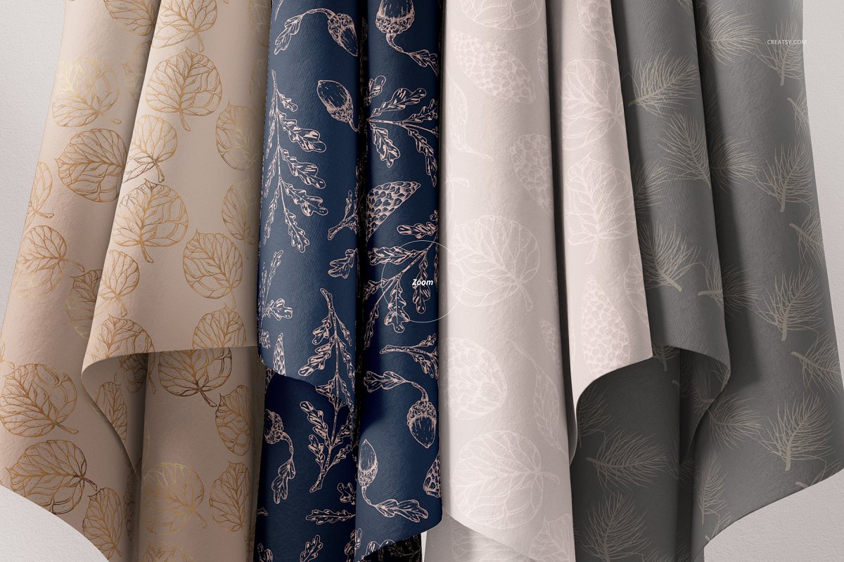Hanging Fabrics Mockup 61/FF v.6 in Product Mockups - product preview 4
