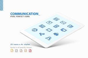 Communication Iconset
