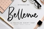 Bellevue // A Traveler Script Font