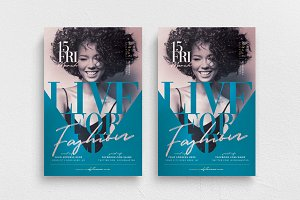 Live For Fashion Flyer Template