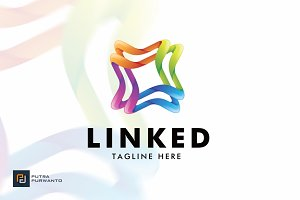 Linked - Logo Template