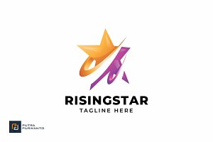 Rising Star - Logo Template