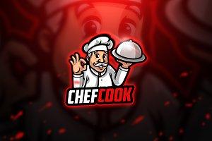 Chefcook - Mascot & Esport Logo