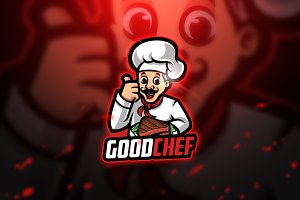 GoodChef - Mascot & Esport Logo