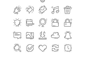 General Line Icons
