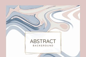 Abstract paint pour background